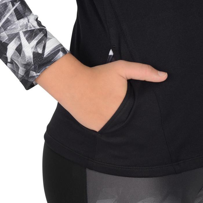 Veste zippée capuche Gym Energy fille - 1326930