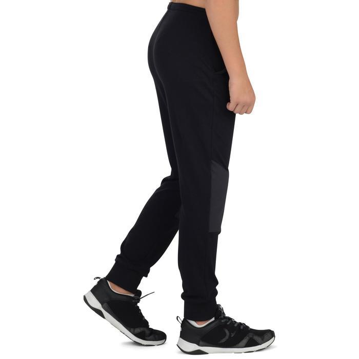 Pantalon léger 500 Gym garçon noir