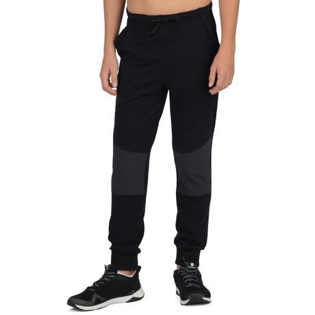Pantalon 500 léger slim Gym garçon poches noir. Previous. Next 65296d02fc3