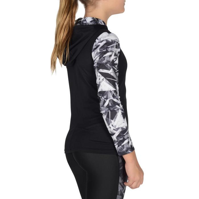 Veste zippée capuche Gym Energy fille - 1326967