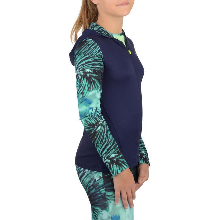 Veste zippée capuche Gym Energy fille - 1326971