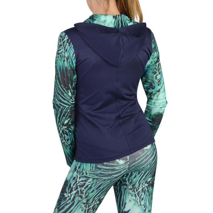 Veste zippée capuche Gym Energy fille - 1326983