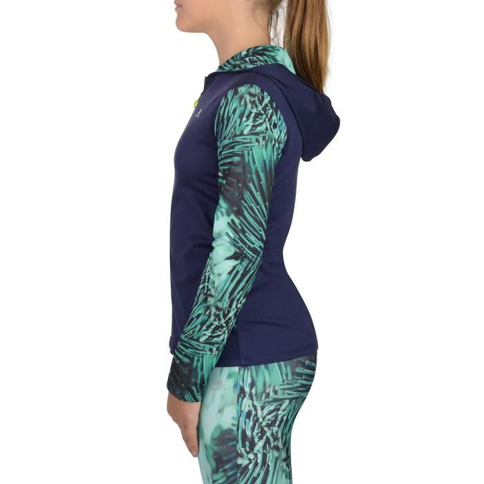 Veste zippée capuche Gym Energy fille - 1326993