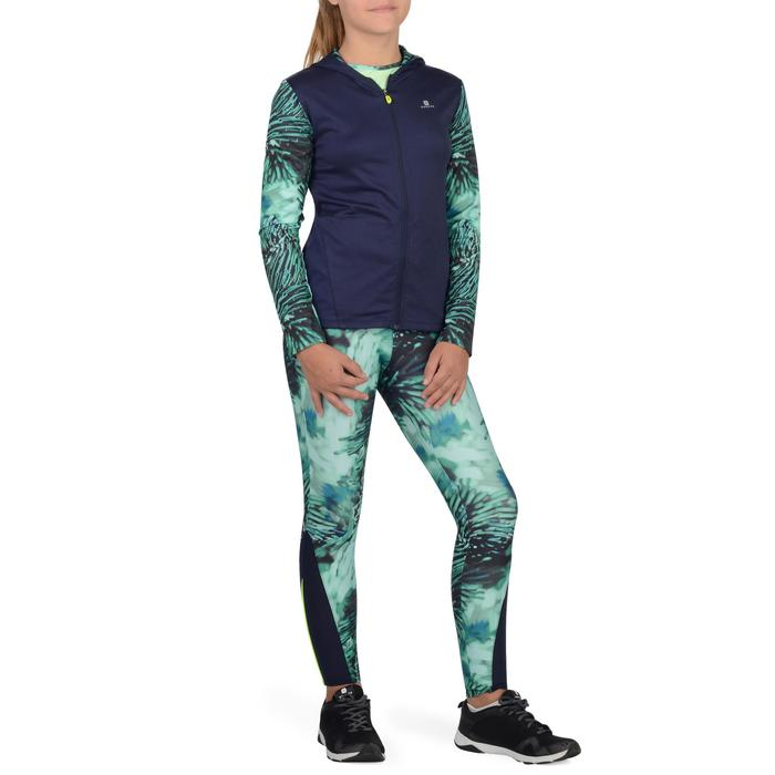 Veste zippée capuche Gym Energy fille - 1326996