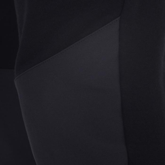 Lichte gymbroek 500 voor jongens zwart