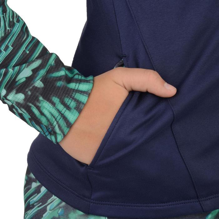 Veste zippée capuche Gym Energy fille - 1327002