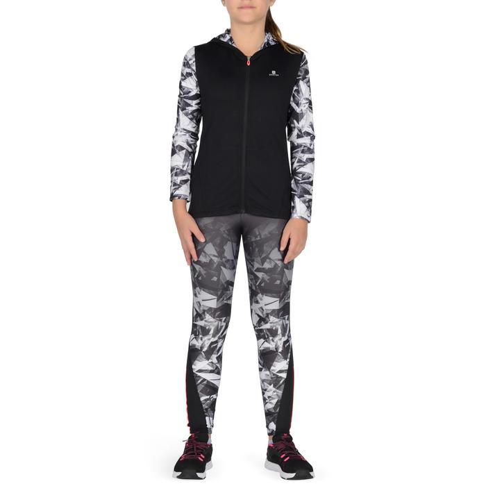Veste zippée capuche Gym Energy fille - 1327004
