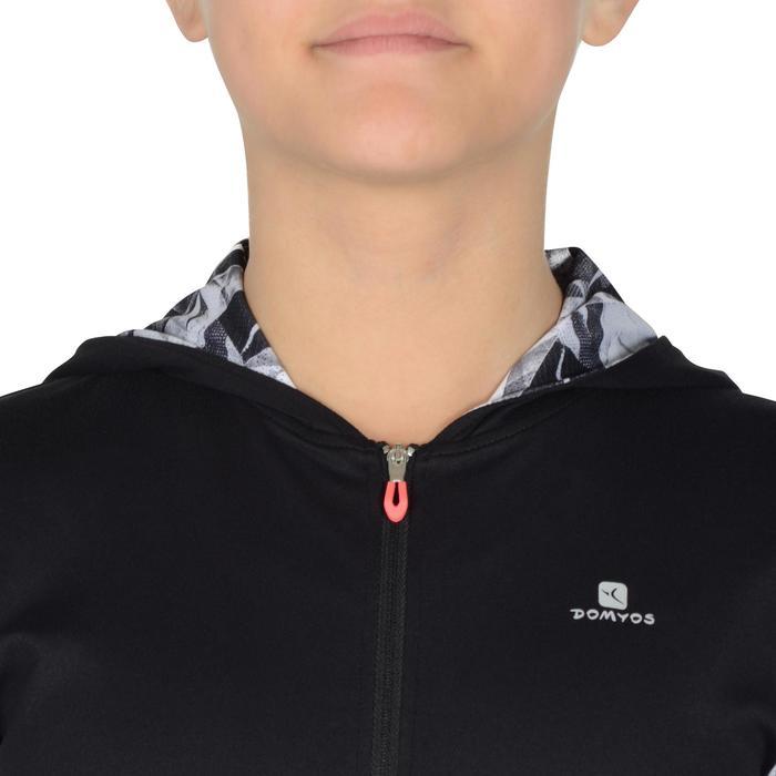 Veste zippée capuche Gym Energy fille - 1327005