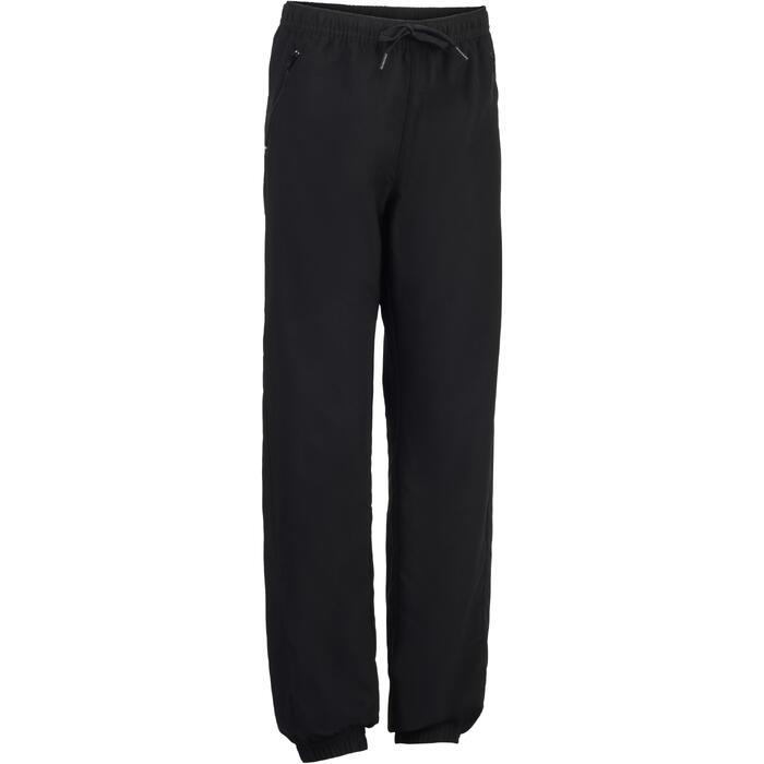 Pantalon léger S500 Gym garçon noir - 1327032