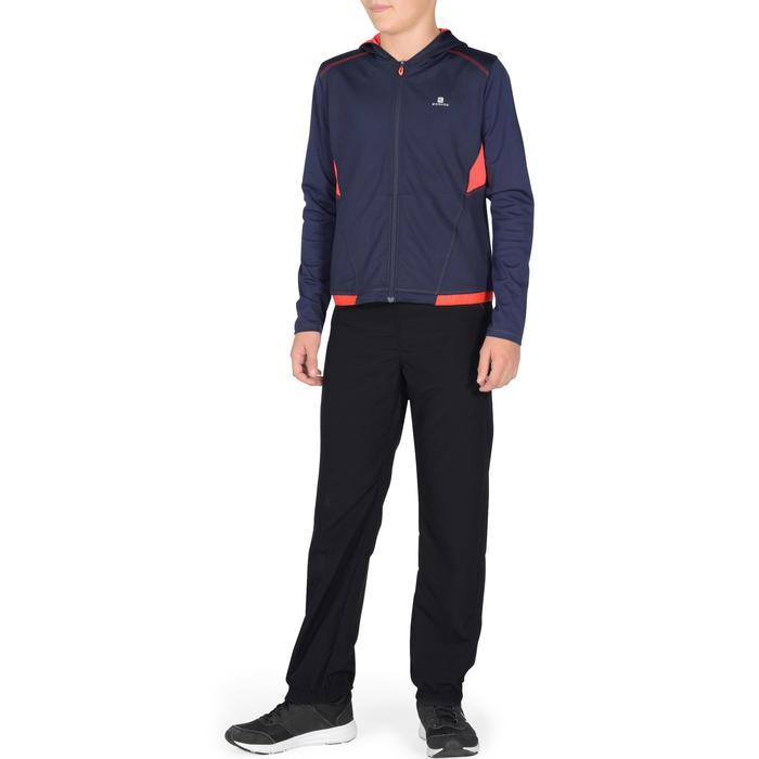 Pantalon léger S500 Gym garçon noir - 1327038