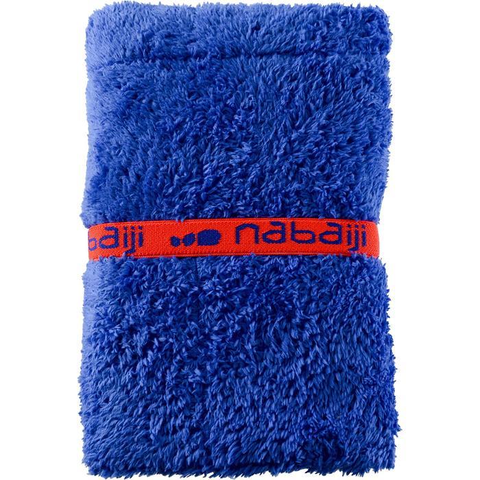 Serviette pour les pieds bi face en microfibre douce diamètre 60 cm - 1327080