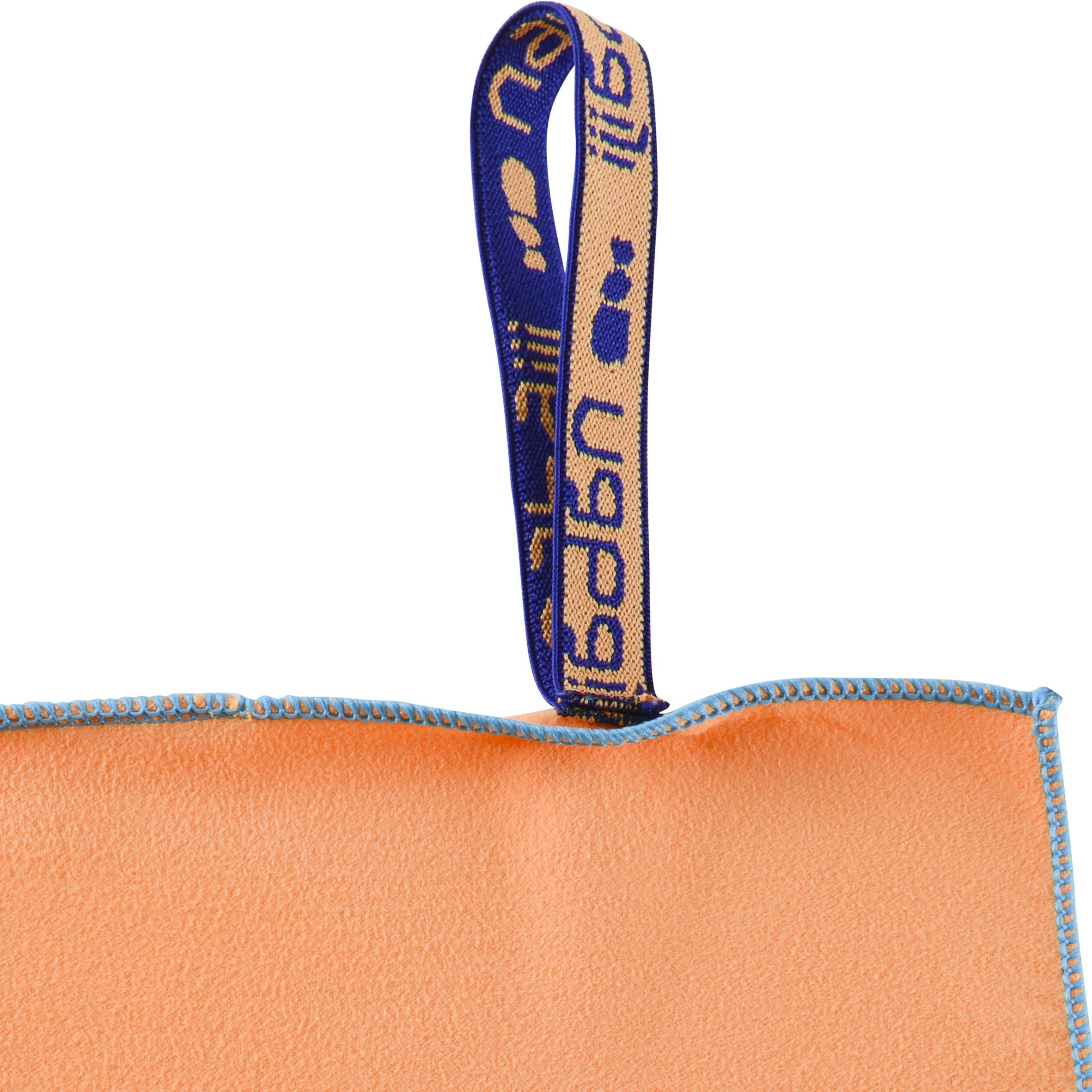 Microfibre Towel Size L 80 x 130 cm - Light Orange