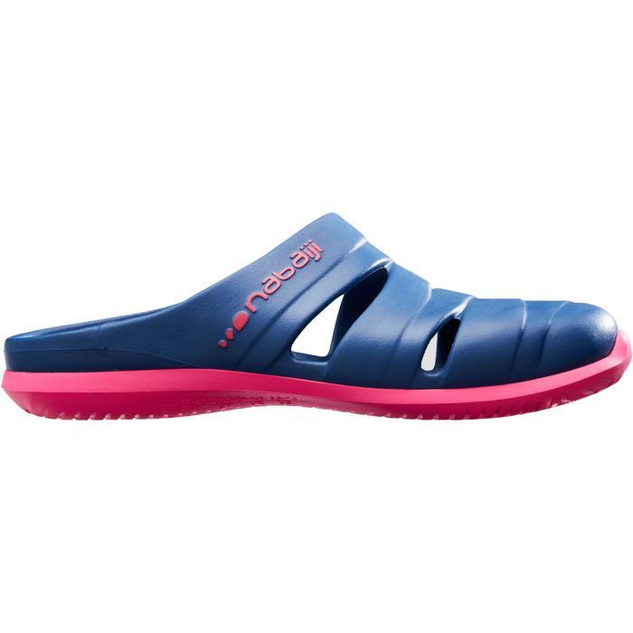 Bade-Clogs 100 Damen dunkelblau
