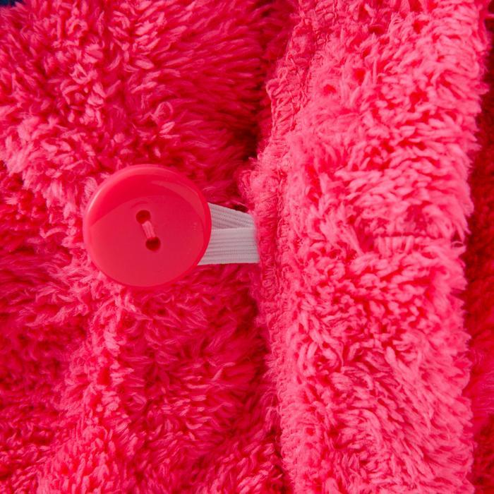 Serviette cheveux rose en microfibre douce - 1327110
