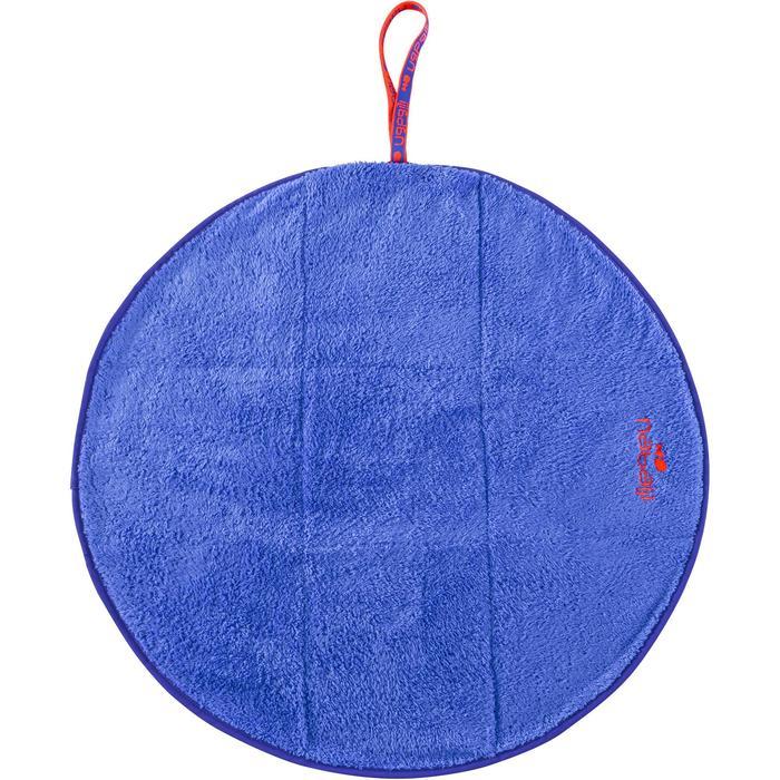 Serviette pour les pieds bi face en microfibre douce diamètre 60 cm - 1327130