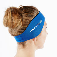 NEOPRENE EAR PROTECTION SWIMMING BAND - BLUE