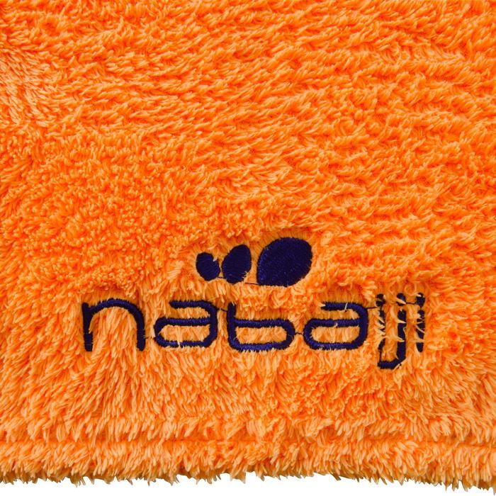 Toalla de microfibra ultrasuave naranja claro talla L 80 x 130 cm.