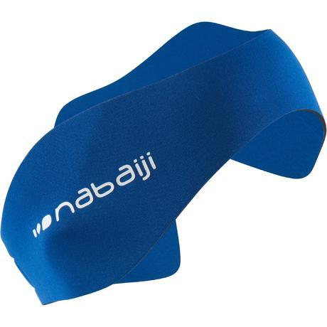 Bandeau pour les oreilles neoprene bleu nabaiji for Protege oreille piscine decathlon