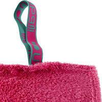 Serviette microfibre douce rose G