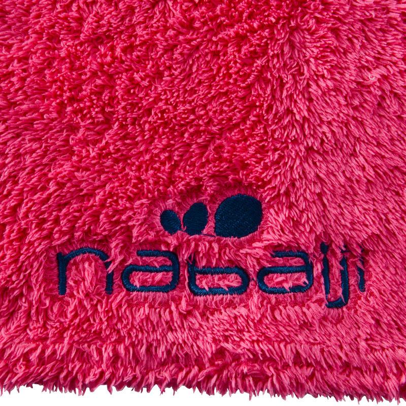Toalla de microfibra rosa ultra suave, talla L 80 x 130 cm