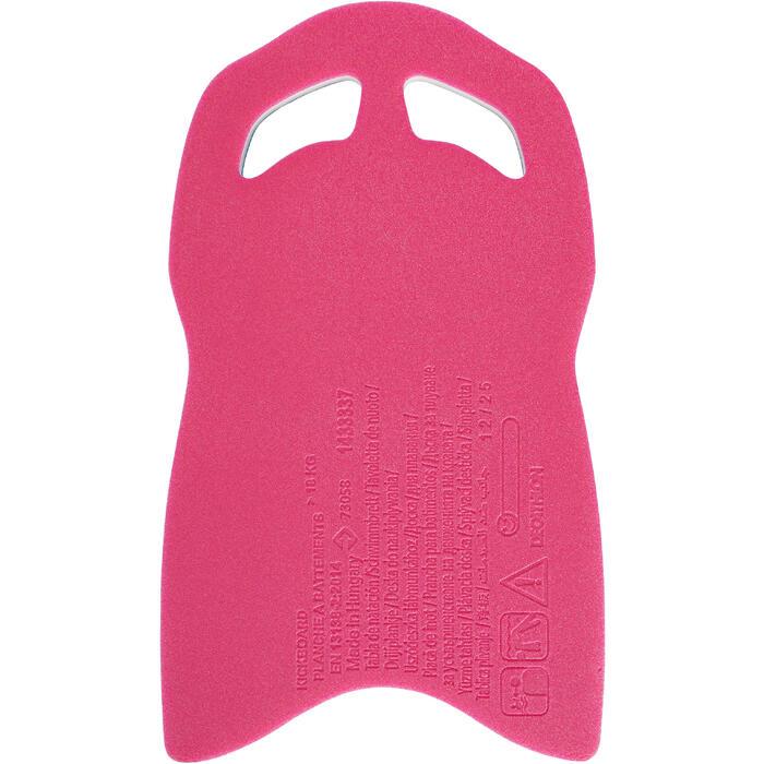 Groot kickboard blauw roze