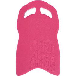 Groot kickboard voor zwemmen blauw roze