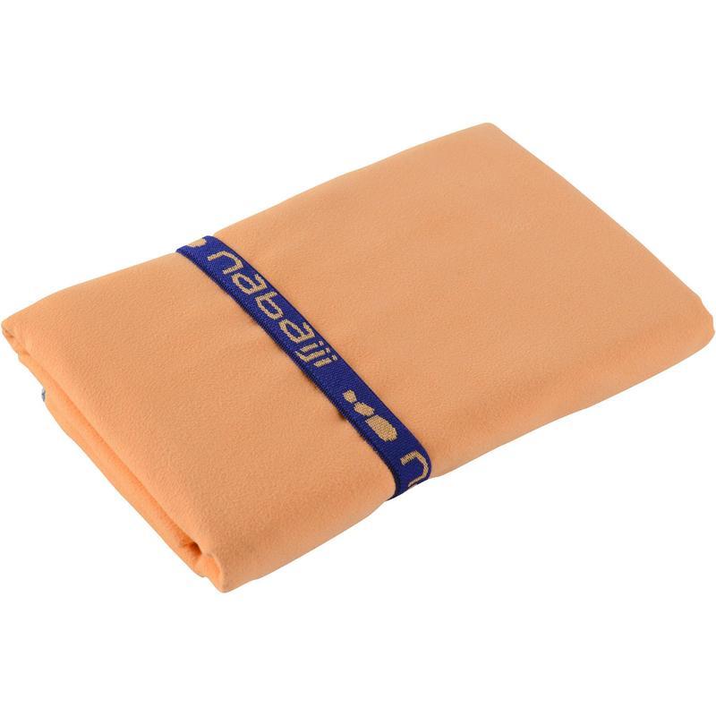 130x80 cm Jowihas Serviette de sport en microfibre 80 x 130 ou 40 x 80 cm Vert Violet Orange Bleu Rouge Noir Avec sangle de rangement int/égr/ée Polyester bleu