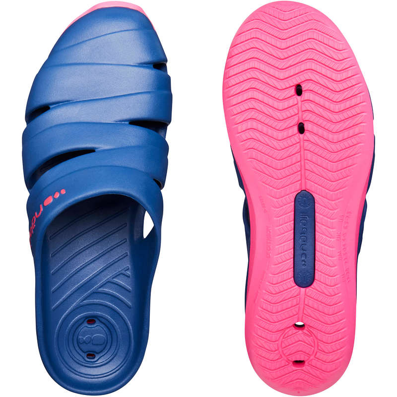 POOL SHOES Kayaking - WOMEN'S POOL CLOGS BLUE NABAIJI - Kayaking