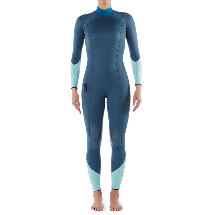 Women's SCD 540 3mm SCUBA diving wetsuit with reinforcements - 1327275