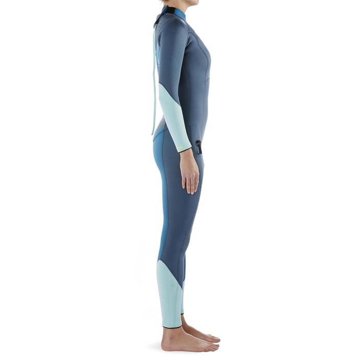 Women's SCD 540 3mm SCUBA diving wetsuit with reinforcements - 1327276