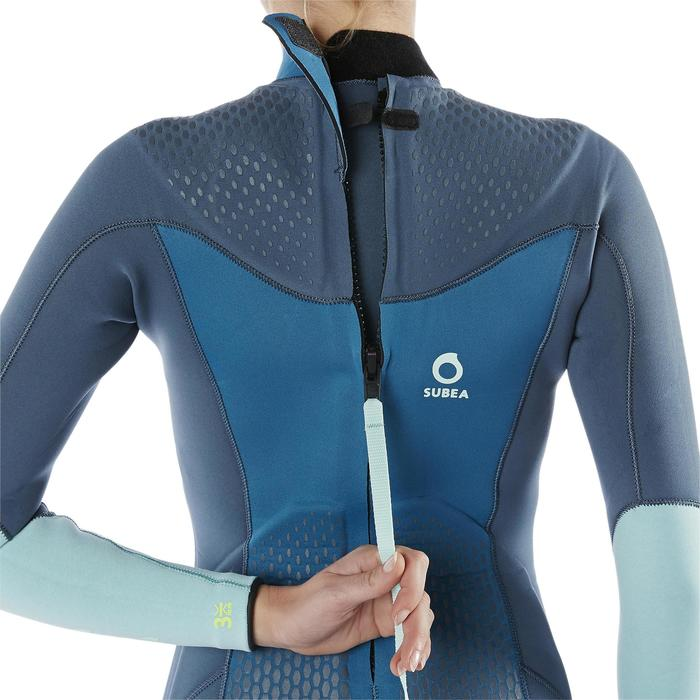 Women's SCD 540 3mm neoprene diving wetsuit with padding