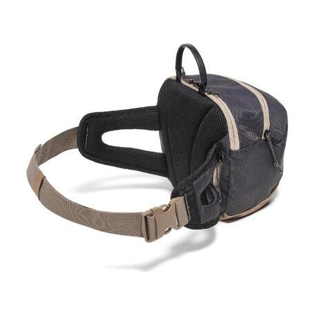 Travel Hiking Large Size 5 Litre Belt Bag - Black