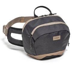 Travel Hiking Large Size 5 Litre Waist Pack - Black