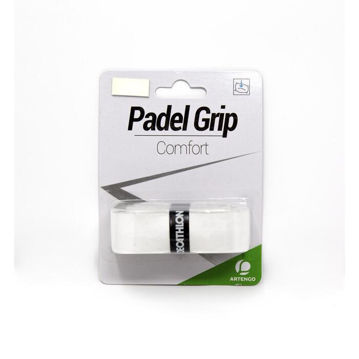 Padel-Griffband Komfort weiß