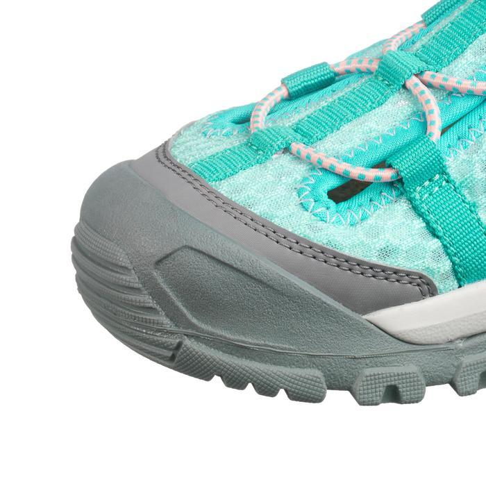 Sandales de randonnée enfant MH150 JR turquoise