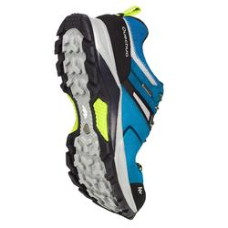 Zapatillas de senderismo en montaña hombre MH500 impermeables Azul