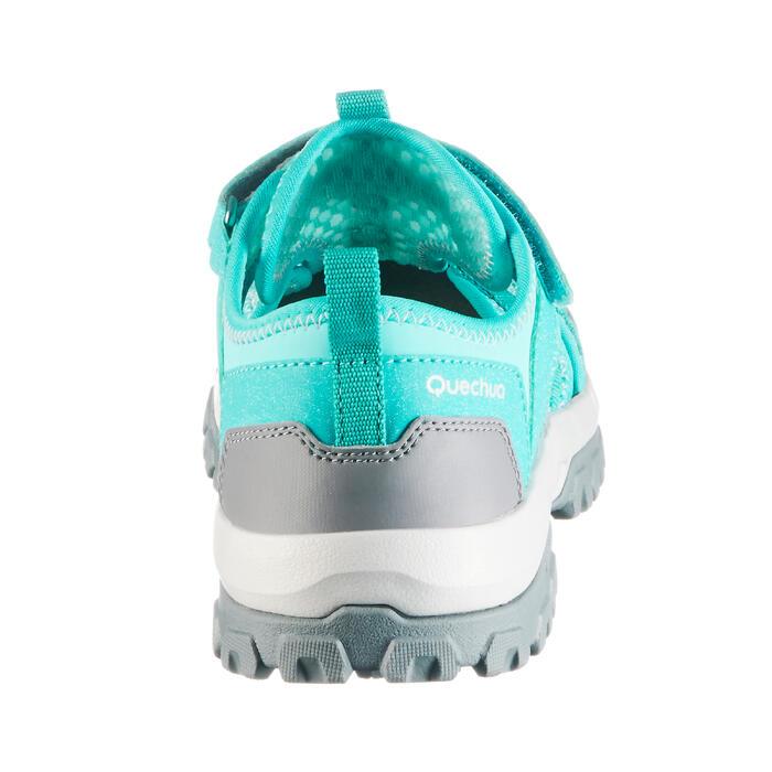 Sandalias de montaña niños NH900 JR verde talla 28 a 39