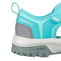 Sandalias de senderismo niños NH900 JR Verde