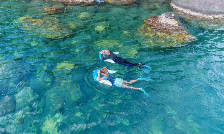 olu 120 bouée d'observation de snorkeling subea
