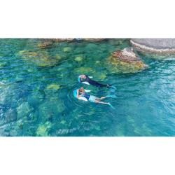 Bouée d'observation de snorkeling OLU 120 bleu