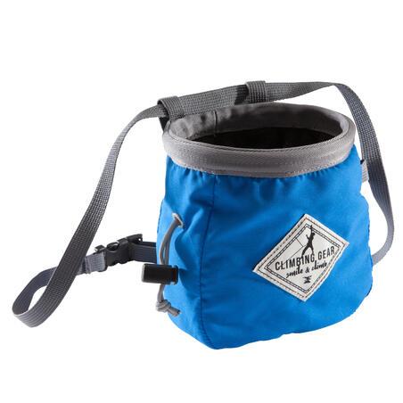 CLIMBING CHALK BAG VERTIKA SIZE L - BLUE