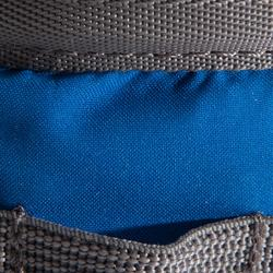 Pofzak L blauw
