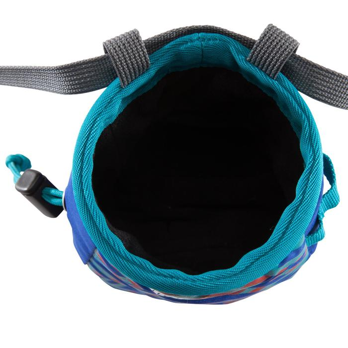 Magnesiumzak voor klimmen maat M indigoblauw