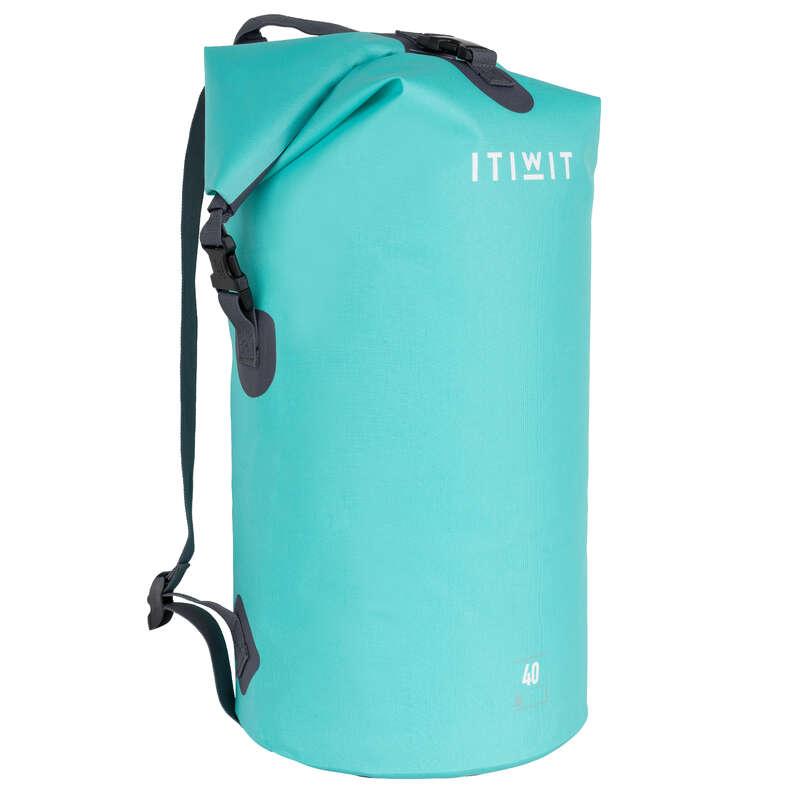 WATERPROOF BAGS Bags - Waterproof Dry Bag 40L - Green ITIWIT - Bags