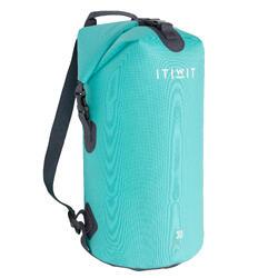 30L 環保材質防水行李袋- 灰色