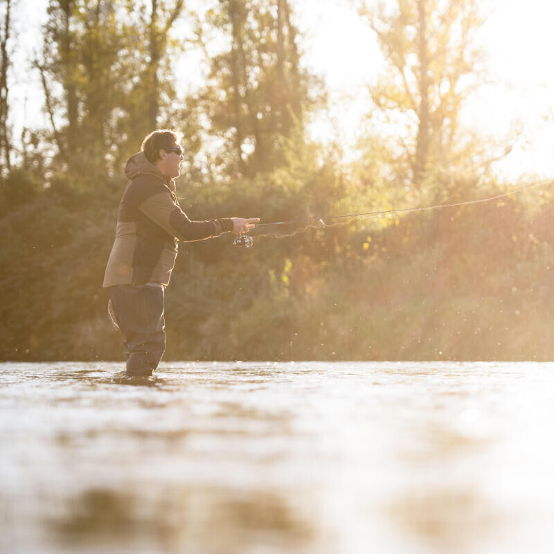 WHAT TECHNICAL TO FISH TROUT ?