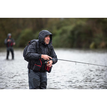 Chest pack complete pêche Dark Grey - 1327697