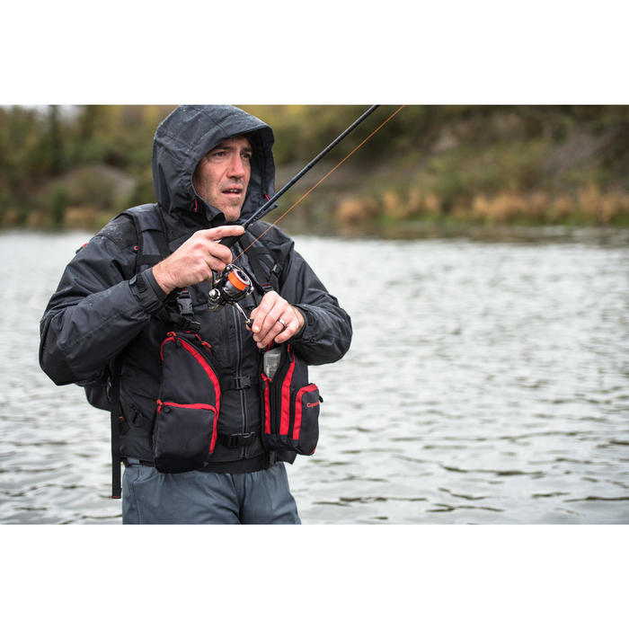Chest pack complete pêche Dark Grey - 1327705