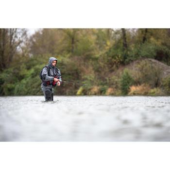Veste pêche pluie-5 grey - 1327706