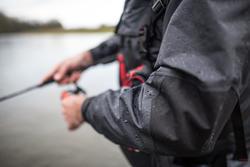 Wading fishing jacket-5 BLACK